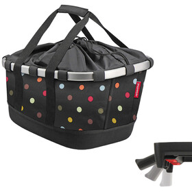 KlickFix Reisenthel GT Bike Basket with UniKlip, dots